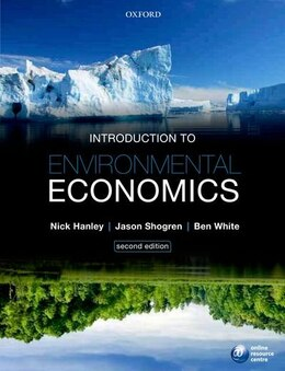 Book Introduction to Environmental Economics by Nick Hanley