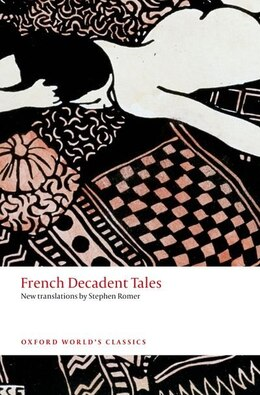 Book French Decadent Tales by Stephen Romer