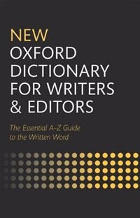 Book New Oxford Dictionary for Writers and Editors by Oxford