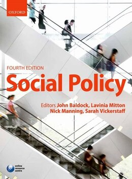 Book Social Policy by JOHN BALDOCK