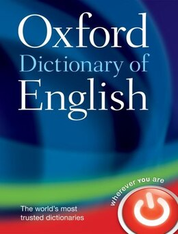 Book Oxford Dictionary of English by Oxford Dictionaries