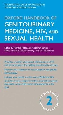 Book Oxford Handbook of Genitourinary Medicine, HIV, and Sexual Health by Nathan Sankar