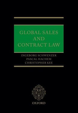 Book Global Sales and Contract Law by Ingeborg Schwenzer