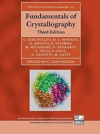 Book Fundamentals Of Crystallography by Carmelo Giacovazzo