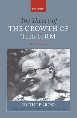 Book The Theory of the Growth of the Firm by Edith Penrose