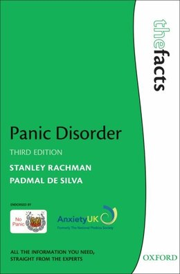 Book Panic Disorder: The Facts by Stanley Rachman
