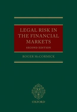 Book Legal Risk in the Financial Markets by Roger McCormick