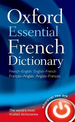 Book Oxford Essential French Dictionary by Oxford Dictionaries
