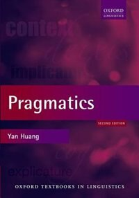 Book Pragmatics by Yan Huang
