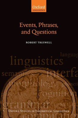 Book Events, Phrases, and Questions by Robert Truswell