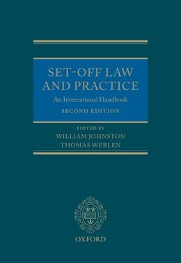 Book Set-Off Law and Practice: An International Handbook by William Johnston