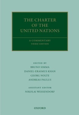 Book The Charter of the United Nations: A Commentary by Bruno Simma