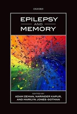 Book Epilepsy and Memory by Adam Zeman