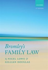 Book Bromleys Family Law by Nigel Lowe