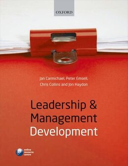 Book Leadership and Management Development by Jan L. Carmichael