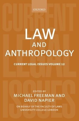 Book Law and Anthropology: Current Legal Issues Volume 12 by Michael Freeman