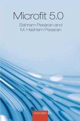Book MICROFIT 5.0 Windows Commercial Single User and Manual (Book and CD Pack) by Bahram Pesaran
