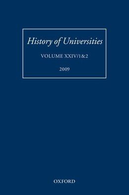 Book History of Universities: Volume XXIV/1and2 by Mordechai Feingold