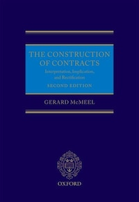 The Construction of Contracts