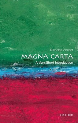 Book Magna Carta: A Very Short Introduction by Nicholas Vincent