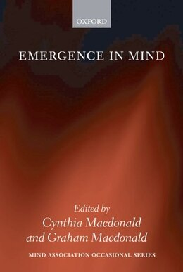 Book Emergence in Mind by Cynthia Macdonald