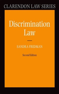 Book Discrimination Law by Sandra Fredman FBA