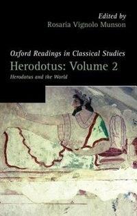 Book Herodotus: Volume 2 by Rosaria Vignolo Munson