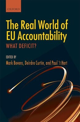 Book The Real World of EU Accountability: What Deficit? by Mark Bovens