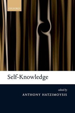 Book Self-Knowledge by Anthony Hatzimoysis