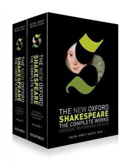 Book The New Oxford Shakespeare: Critical Reference Edition: The Complete Works by William Shakespeare
