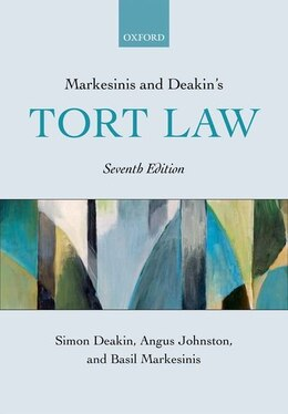 Book Markesinis and Deakins Tort Law by Simon Deakin