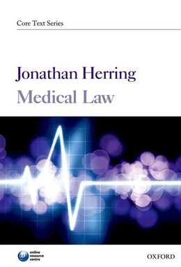 Book Medical Law by Jonathan Herring