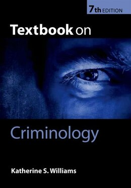 Book Textbook on Criminology by Katherine S. Williams