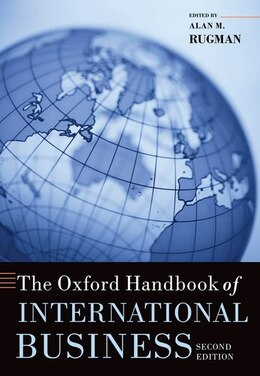 Book The Oxford Handbook of International Business by Alan M. Rugman