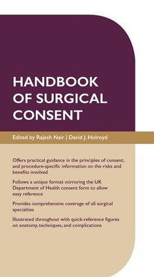 Book Handbook of Surgical Consent by Rajesh Nair