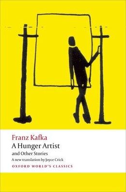 Book A Hunger Artist and Other Stories by Franz Kafka