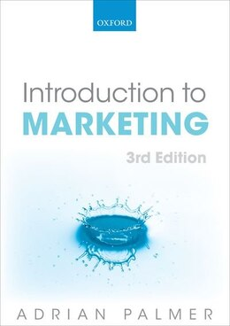 Book Introduction to Marketing: Theory and Practice by Adrian Palmer