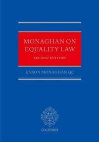 Book Monaghan on Equality Law by Karon Monaghan