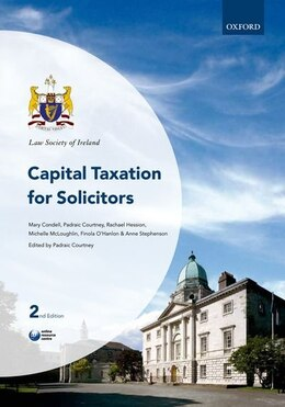 Book Capital Taxation for Solicitors by Padraic Courtney