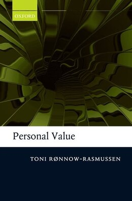 Book Personal Value by Toni Ronnow-Rasmussen