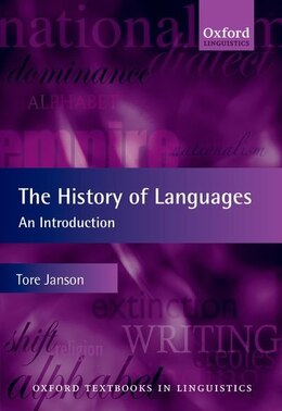 Book The History of Languages: An Introduction by Tore Janson