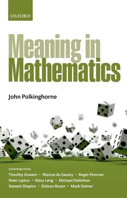 Book Meaning in Mathematics by John Polkinghorne