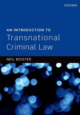 Book An Introduction to Transnational Criminal Law by Neil Boister