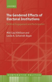 The Gendered Effects of Electoral Institutions: Political Engagement and Participation