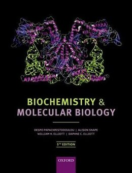 Book Biochemistry and Molecular Biology by Despo Papachristodoulou