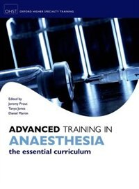 Book Advanced Training in Anaesthesia by Jeremy Prout