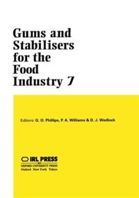 Book Gums and Stabilisers for the Food Industry 7 by Glyn O. Phillips