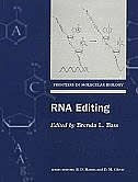 Book RNA Editing by Brenda Bass