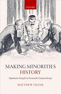 Book Making Minorities History: Population Transfer in Twentieth-Century Europe by Matthew Frank