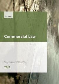Commercial Law 2012: LPC Guide